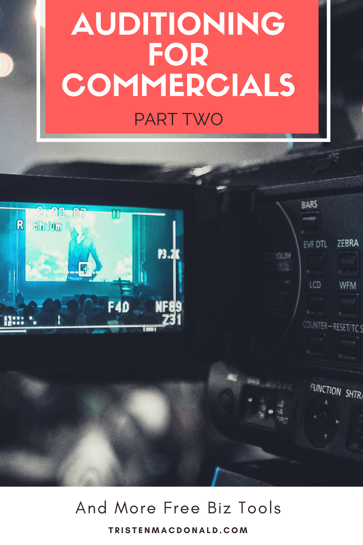 How to Audition for TV Commercials. Insider Tips