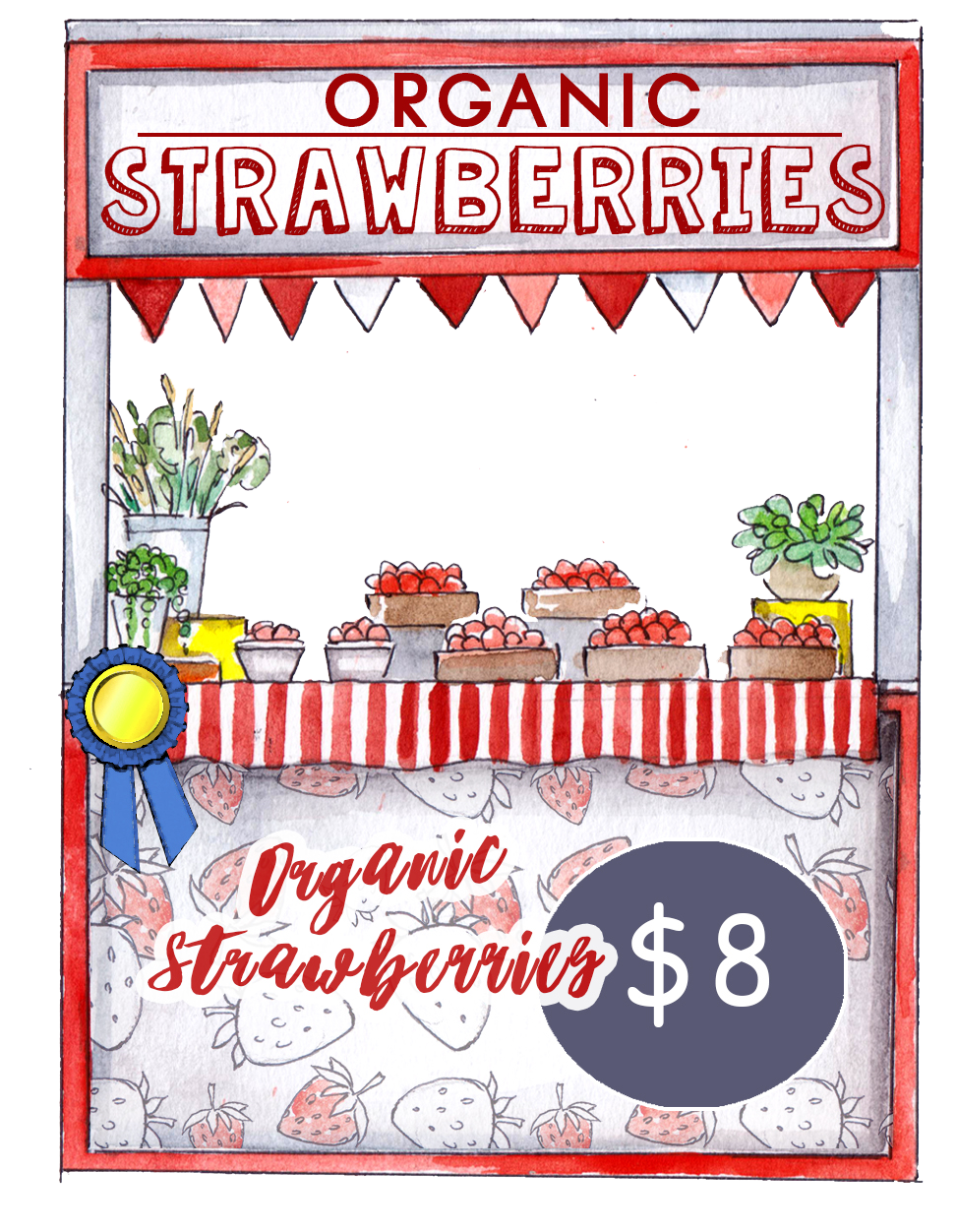 Blog Image Selling Strawberries Stand 3